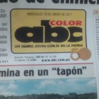 Photo taken at Diario ABC Color by Denis D. on 1/18/2017