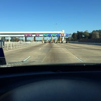 Photo taken at West Sam Houston Tollway South Plaza by 💜💜Priscilla💜💜 on 1/19/2014