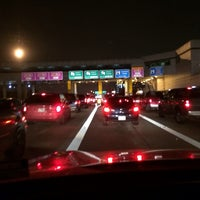Photo taken at West Sam Houston Tollway South Plaza by 💜💜Priscilla💜💜 on 12/21/2013