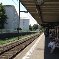 Photo taken at Bahnhof Kloten by Asger B. on 7/22/2013