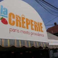 Photo taken at Creperie by Madahme T. on 4/15/2013