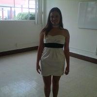 Photo taken at Centro Universitario Incarnate Word by Alejandra T. on 6/21/2013