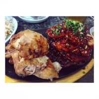 Photo taken at 더맛존숯불바베큐 by SulHee on 8/23/2015