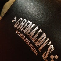 Photo taken at Grimaldi's Pizzeria by Mindy S. on 2/25/2013