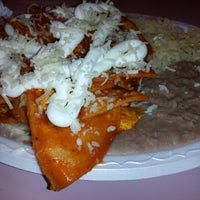 Photo taken at Plaza's Mexican Food by Carmen G. on 1/24/2013