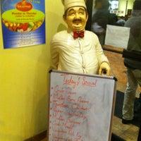 Photo taken at Anjappar Authentic Chettinadu Restaurant by Ali B. on 2/24/2013