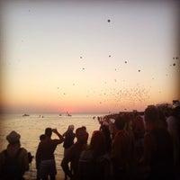 Photo taken at SunSet (kaZantip) by Katrin P. on 8/10/2013