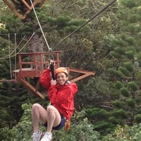 Photo taken at Just Live Zipline Treetop Tour by Drew A. on 12/21/2012