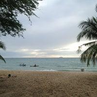 Photo taken at Sai Keaw Beach by Tongta T. on 7/19/2013