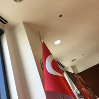 Photo taken at Consulate General of Turkey by Semih K. on 8/16/2017