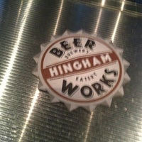 Photo taken at Hingham Beer Works by Ally G. on 3/12/2013