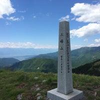Photo taken at 三峰山 by tono on 6/15/2014