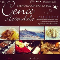 12/13/2013에 Consorzio Turistico Langhe Monferrato Roero M.님이 Consorzio Turistico Langhe Monferrato Roero Booking Office에서 찍은 사진