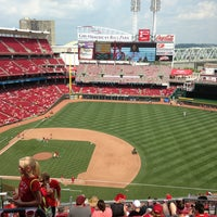 Photo taken at Great American Ball Park by Stephanie D. on 7/20/2013