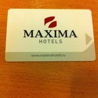 Photo taken at Maxima Irbis hotel / Максима Ирбис отель by Антон Е. on 10/7/2013