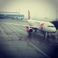 Photo taken at Václav Havel Airport Prague (PRG) by Zarina T. on 2/17/2013
