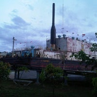Photo taken at Kapal PLTD Apung by Andri K. on 12/24/2012