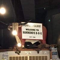 Photo taken at Hammond's BBQ by Chris S. on 8/29/2015