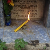 Photo taken at Calamba Cemetery by Joyce C. on 3/10/2014