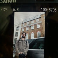 Photo taken at Former Apple Records Savile Row HQ by Martha C. on 10/8/2012