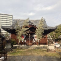Photo taken at 常葉神社 by 葵 紅. on 1/12/2014