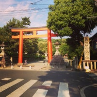 Photo taken at 吉田神社 by 葵 紅. on 5/5/2013