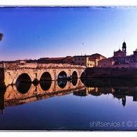 Photo prise au Ponte di Tiberio par SHIFT N. le1/18/2013