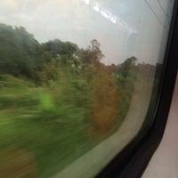 Photo taken at dalam kereta api senandung sutera by aqlh q. on 2/9/2016