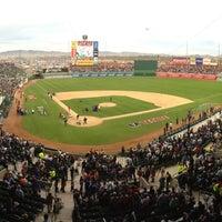 Foto tomada en Estadio Sonora por Daniel V. el 2/5/2013