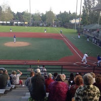Photo taken at Steve Cox Memorial Field by Craig L. on 5/14/2014