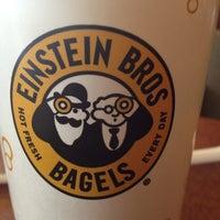 Photo taken at Einstein Bros Bagels by Michelle D. on 3/1/2013