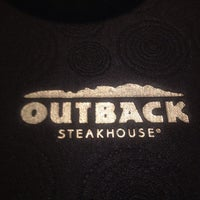 Photo taken at Outback Steakhouse by Michelle D. on 8/28/2013