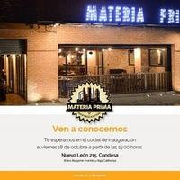 Das Foto wurde bei Materia Prima- Condesa von Paolita M. am 10/20/2013 aufgenommen
