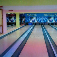 Photo taken at Magic Bowling by Neetusha on 3/23/2014