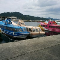 Photo taken at 青海島シーサイドスクエア by Za W. on 7/8/2017