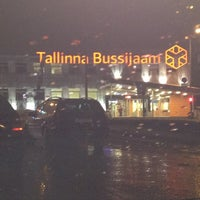 Photo taken at Tallinn bus station by Martin L. on 2/28/2013