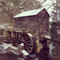 Photo taken at Grist Mill / Stone Mountain Park by Robert G. on 1/29/2014