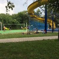 Photo taken at Bazinul de Înot by Alex T. on 8/6/2014