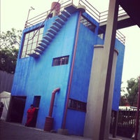 Photo taken at Museo Casa Estudio Diego Rivera y Frida Kahlo by Luis Roberto L. on 11/4/2012