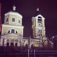 Photo taken at Церковь Пос. Мосрентген by Yuriy S. on 1/11/2014