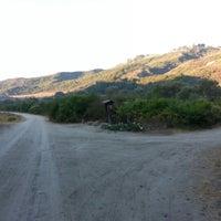 Photo taken at Mathis Mountain Bike Trail Bottom by Bryan on 10/13/2012