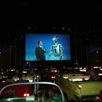 Photo taken at Sci-Fi Dine-In Theater by Bryan on 5/14/2013