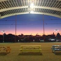 Photo taken at Browning Hangar by Justin S. on 10/7/2013