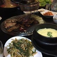 Photo taken at 황소막창 Hwangso Makchang by Jissette F. on 4/15/2017