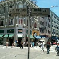 Photo taken at Rua Santa Ifigênia by Fabbinho on 12/20/2012