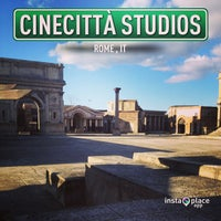 Photo taken at Cinecittà Studios by Andrea P. on 2/6/2013