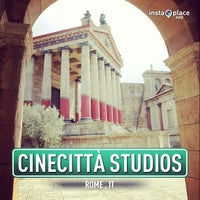 Photo taken at Cinecittà Studios by Andrea P. on 1/29/2013