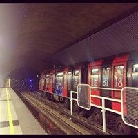 Photo taken at Metro Einstein by Carlos Felipe C. on 10/29/2012