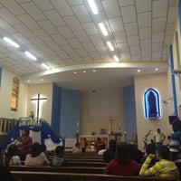 Photo taken at Igreja Sagrado Coração de Jesus by Malu D. on 5/11/2014