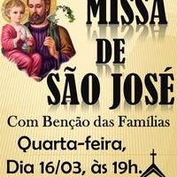 Photo taken at Igreja Sagrado Coração de Jesus by Malu D. on 3/16/2016